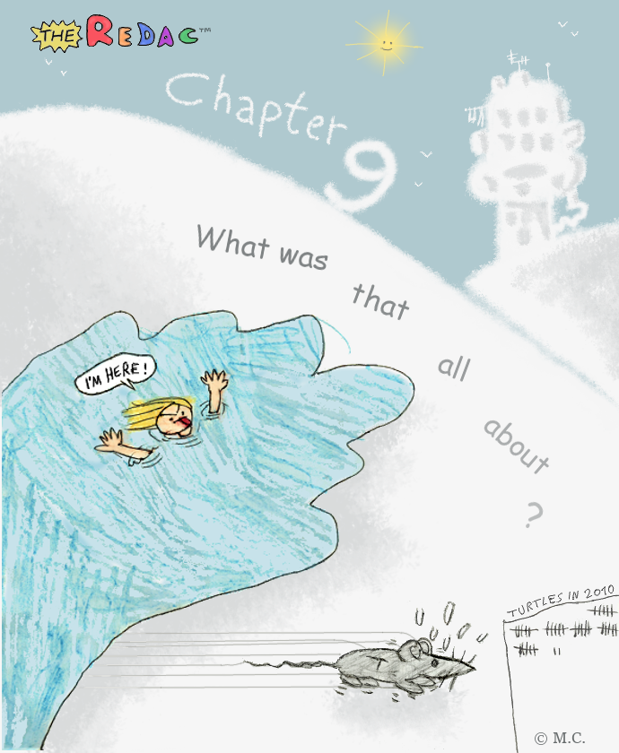 Chapter 9 - What was that all about?